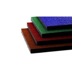 Напольная резиновая плита 40 мм