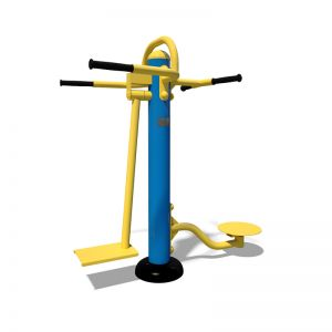 Тренажёр для ягодичных, приводящих и отводящих мышц бедра - Твистер SL 104.1