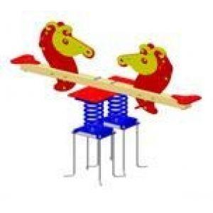 Балансир на пружинах «Морской конек»
