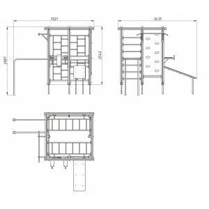 ДК 510 Гимнастический комплекс MV-sport