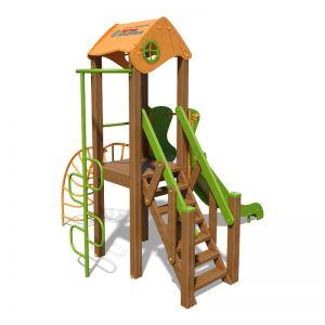 """Игровой комплекс оранжево-зеленый """"Малыш- NEW"""" T801 NEW"""
