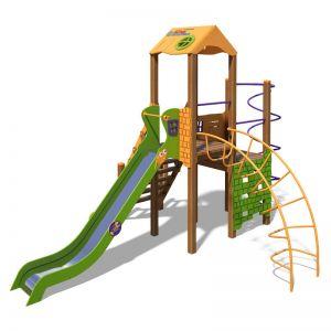 """Игровой комплекс оранжево-зеленый """"Башня-NEW"""" T901 NEW"""